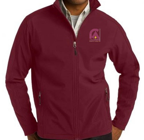 UNISEX ADULT PERFORMANCE JACKET W/LOGO