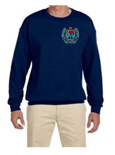 ADULT CREW NECK SWEATSHIRT W/LOGO