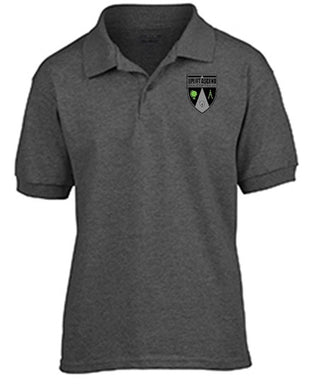 GIRLS SHORT SLEEVE SPORT POLO W/LOGO