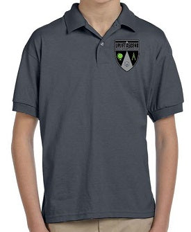BOYS SHORT SLEEVE SPORT POLO W/LOGO
