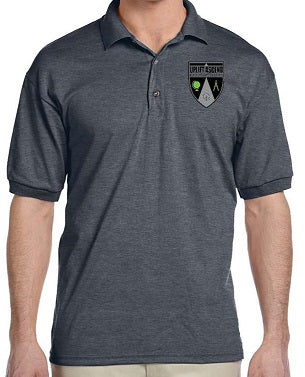 MENS SHORT SLEEVE POLO W/LOGO