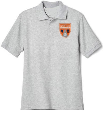 GIRLS SHORT SLEEVE POLO W/ LOGO