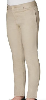 GIRLS STRETCH TWILL SKINNY PANT (MIDDLE SCHOOL ONLY)