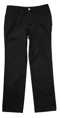 GIRLS STRETCH TWILL STRAIGHT PANT