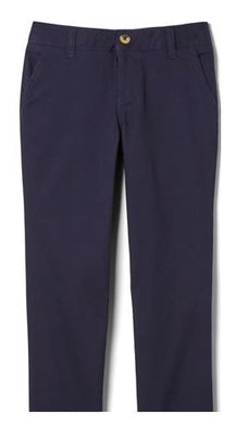 GIRLS STRETCH TWILL STRAIGHT LEG PANT