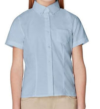 Load image into Gallery viewer, GIRLS SHORT SLEEVE OXFORD