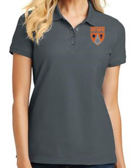 JUNIOR SHORT SLEEVE POLO W/ LOGO