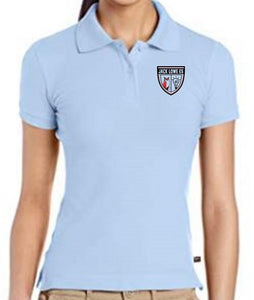 JUNIORS SHORT SLEEVE POLO W/LOGO