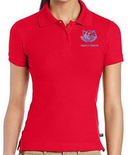 Load image into Gallery viewer, JUNIORS SHORT SLEEVE POLO W/LOGO