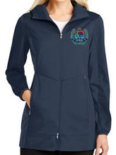 Load image into Gallery viewer, LADIES ACTIVE HOODED SOFTSHELL JACKET W/LOGO
