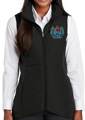 LADIES COLLECTIVE INSULATED VEST W/LOGO