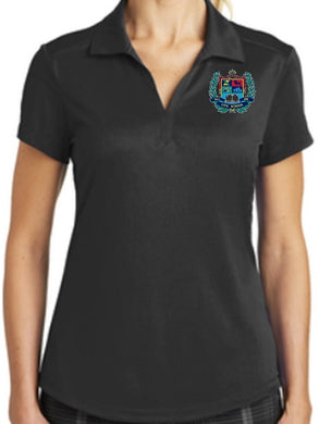 LADIES DRI-FIT LEGACY POLO W/LOGO
