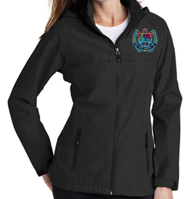 LADIES TORRENT WATERPROOF JACKET W/LOGO