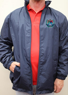 ADULT LINED HOODED JACKET W/LOGO