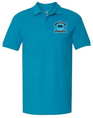 MENS SHORT SLEEVE POLO W/LOGO (STAFF)