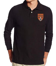 Load image into Gallery viewer, MENS LONG SLEEVE POLO W/ LOGO