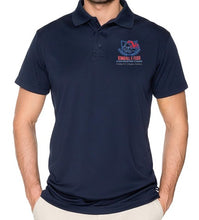 Load image into Gallery viewer, MENS DRI FIT SHORT SLEEVE POLO W/ LOGO