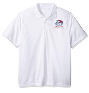 MENS DRI FIT SHORT SLEEVE POLO W/ LOGO