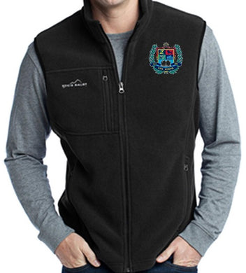 MENS FLEECE VEST W/LOGO