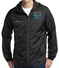 Load image into Gallery viewer, MENS PACKABLE WIND JACKET W/LOGO