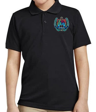 MENS SHORT SLEEVE PERFORMANCE POLO SHIRT W/LOGO