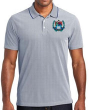 Load image into Gallery viewer, MENS POLY OXFORD PIQUE POLO W/LOGO
