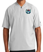 Load image into Gallery viewer, MENS CAGE SHORT SLEEVE 1/4 ZIP JACKET W/LOGO
