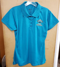 Load image into Gallery viewer, GIRLS SHORT SLEEVE POLO W/ LOGO