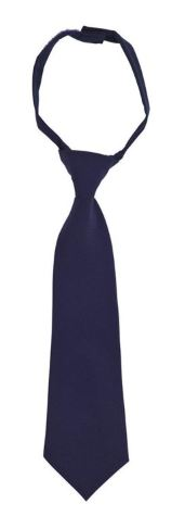 BOYS ADJUSTABLE SOLID LONG TIE
