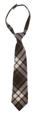BOYS LONG PLAID TIE