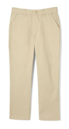 BOYS STRAIGHT FIT COMFORT WAISTBAND PANT