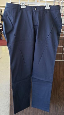 LADIES PLUS SIZE WELT POCKET STRAIGHT LEG PANT