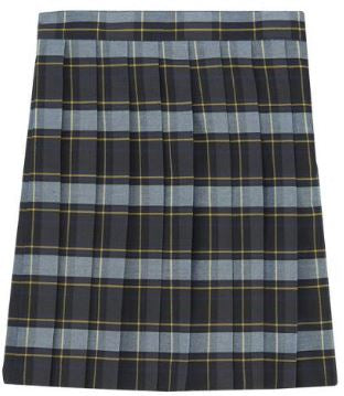 GIRLS PLAID SKIRT