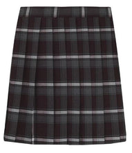 Load image into Gallery viewer, GIRLS PLAID PLEATED SKIRT