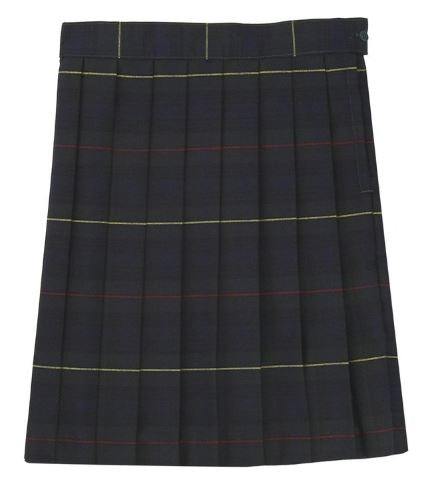 GIRLS PLAID PLEATED SKIRT