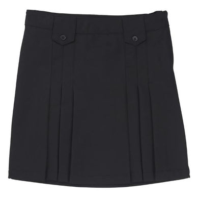 GIRLS FRONT PLEATED TAB SKIRT