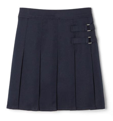 GIRLS SIDE BUCKLE PLEATED SCOOTER - ELEM