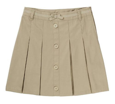 GIRLS PLEATED BUTTON SCOOTER - SEC