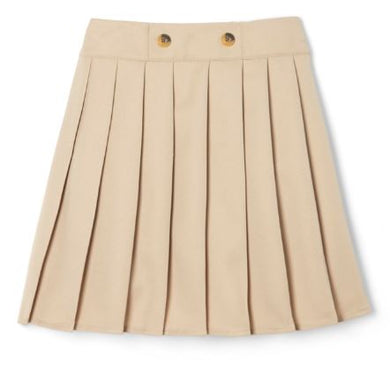 GIRLS BUTTON PLEATED SCOOTER - SEC