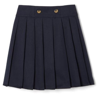 GIRLS BUTTON PLEATED SCOOTER - ELEM
