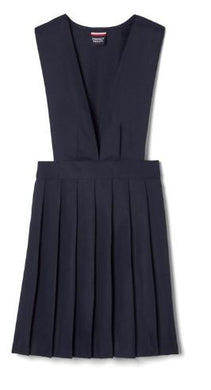 GIRLS V-NECK PLEATED JUMPER