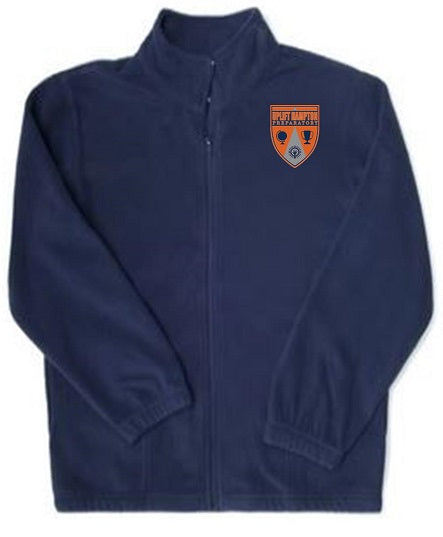 YOUTH UNISEX FLEECE JACKET W/ LOGO