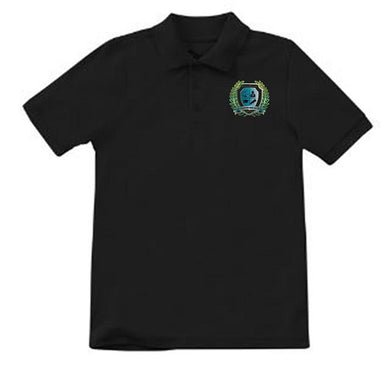 MENS SHORT SLEEVE POLO W/ LOGO