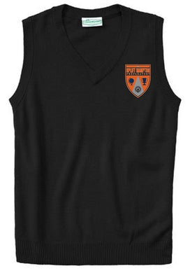 UNISEX ADULT SWEATER VEST W/ LOGO