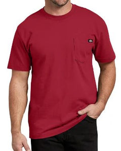 MENS SHORT SLEEVE HEAVY WEIGHT POCKET TEE