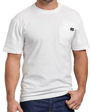 Load image into Gallery viewer, MENS SHORT SLEEVE HEAVY WEIGHT POCKET TEE