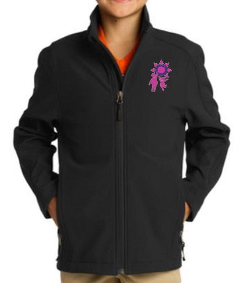 SOFT SHELL JACKET W/LOGO