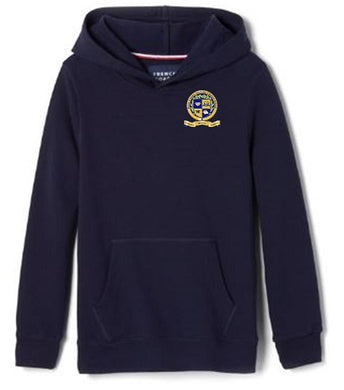 UNISEX YOUTH FLEECE HOODY W/LOGO