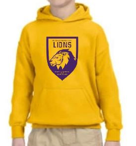 UNISEX YOUTH LONG SLEEVE SPIRIT HOODY (2ND - 4TH ONLY)