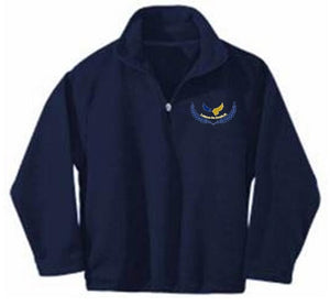UNISEX FLEECE JACKET W/ LOGO - ELEMENTARY